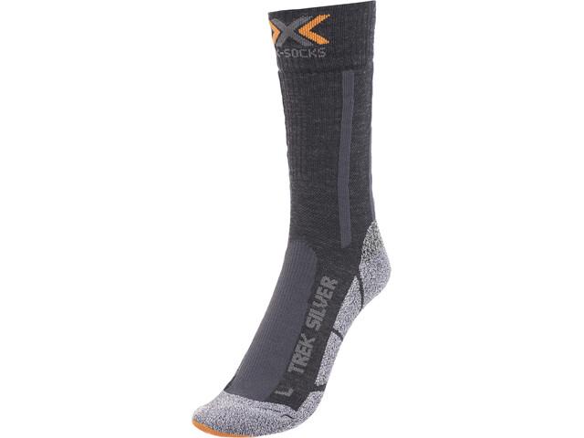 X-Socks M's Trekking Silver Socks Black/Anthracite